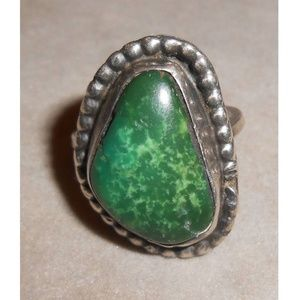 Jewelry - VINTAGE Native American HALLMARKED ring size 6
